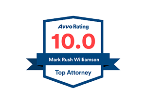 Avvo Top Attorney badge for Mark Rush Williamson